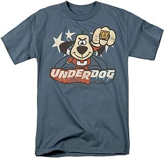 Underdog Flying Logo Retro Cartoon T Shirt & Stickers