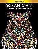 Photo Gallery 200 animali - album da colorare per adulti: [2 libri in 1] 200 fantastici animali, decorati con bellissimi mandala. ottimo passatempo per adulti + versione pdf in regalo.
