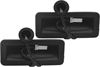 Piaopiao 2Pcs Car Boot Tailgate Release Switch Fit for Ford Focus MK2 2004-2008 5119B514AC (Color : Black)