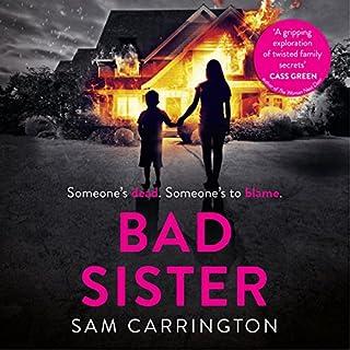 Bad Sister audiobook cover art