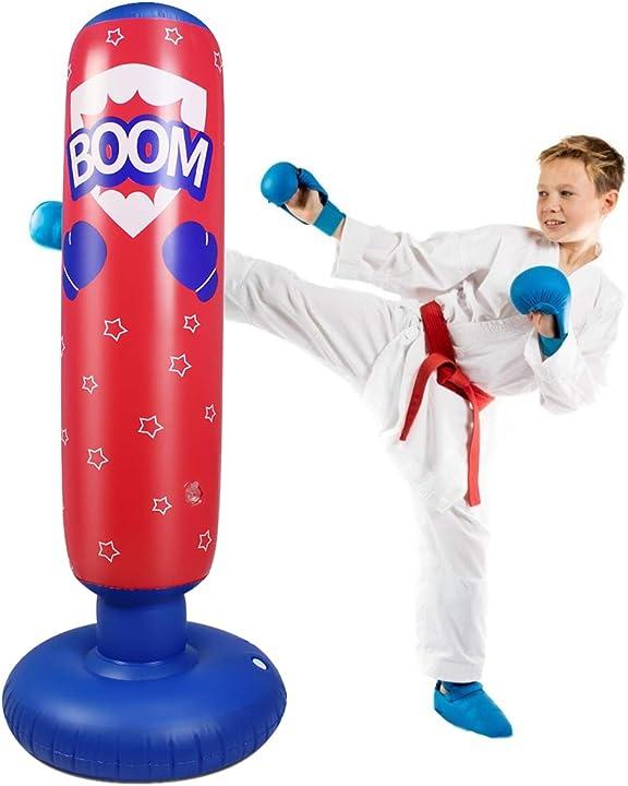 Sacco da boxe gonfiabile per bambini sacco da boxe ninja autoportante  ponacat 1482692/120048AM66UKLK3S