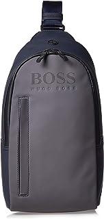 Hugo Boss One Strap Backpack For Men - Grey
