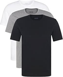 Hugo Boss Men's 3-Pack O L 999 Scoop Neck Cuttting T-Shirt