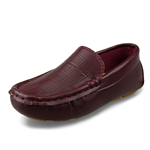 Hawkwell Kids Loafer Moccasin Oxford Driver Shoes(Toddler/Little Kid/Big Kid)