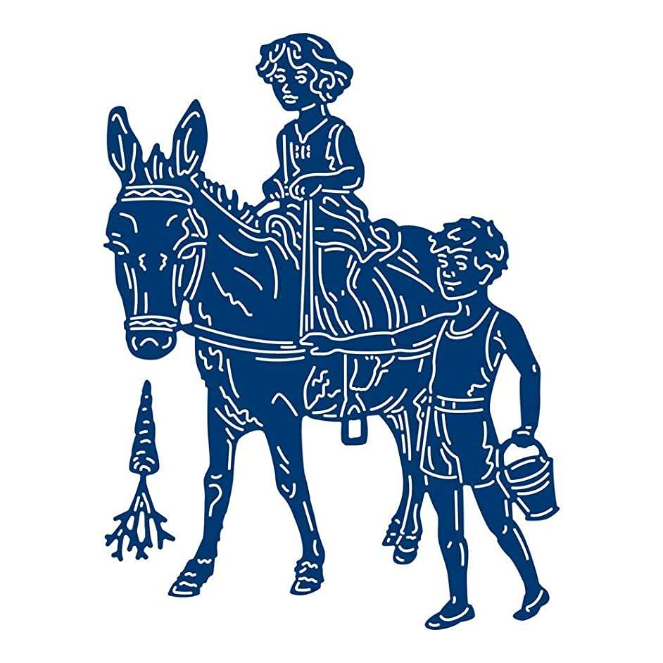 Tattered Lace Beach Donkey Ride Die