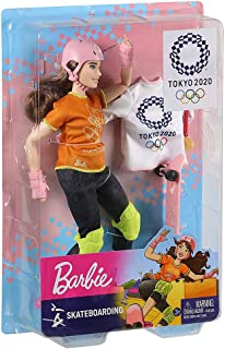 Barbie Move Skateboarder Olympic 2020 Doll