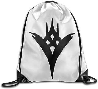 NUBIA Game Logo Backpack Gymsack Drawstring Sport Bag