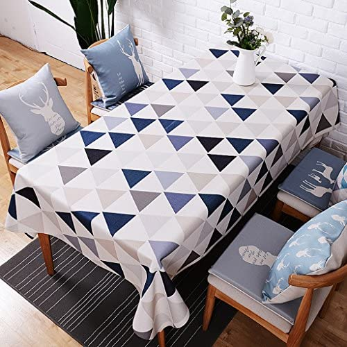 Küchenwäsche Tischdecken aus Leinen und Baumwolle Tischdecken und Tischdecken aus europäischem Stoff Rechteckige und dicke Tischdecken Frische und dicke Tischdecken Tischdecken aus Baumwolle 140  230cm ( Farbe   D , Größe   140230cm )