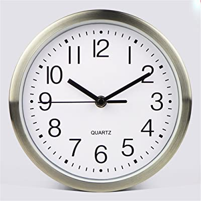FortuneVin Wall Clock Silent movement Wall Clock Home Office Decor for Living Room Bedroom and Kitchen