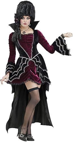 Horror-Shop Viktorianische Vampirbraut Deluxe Kostüm M