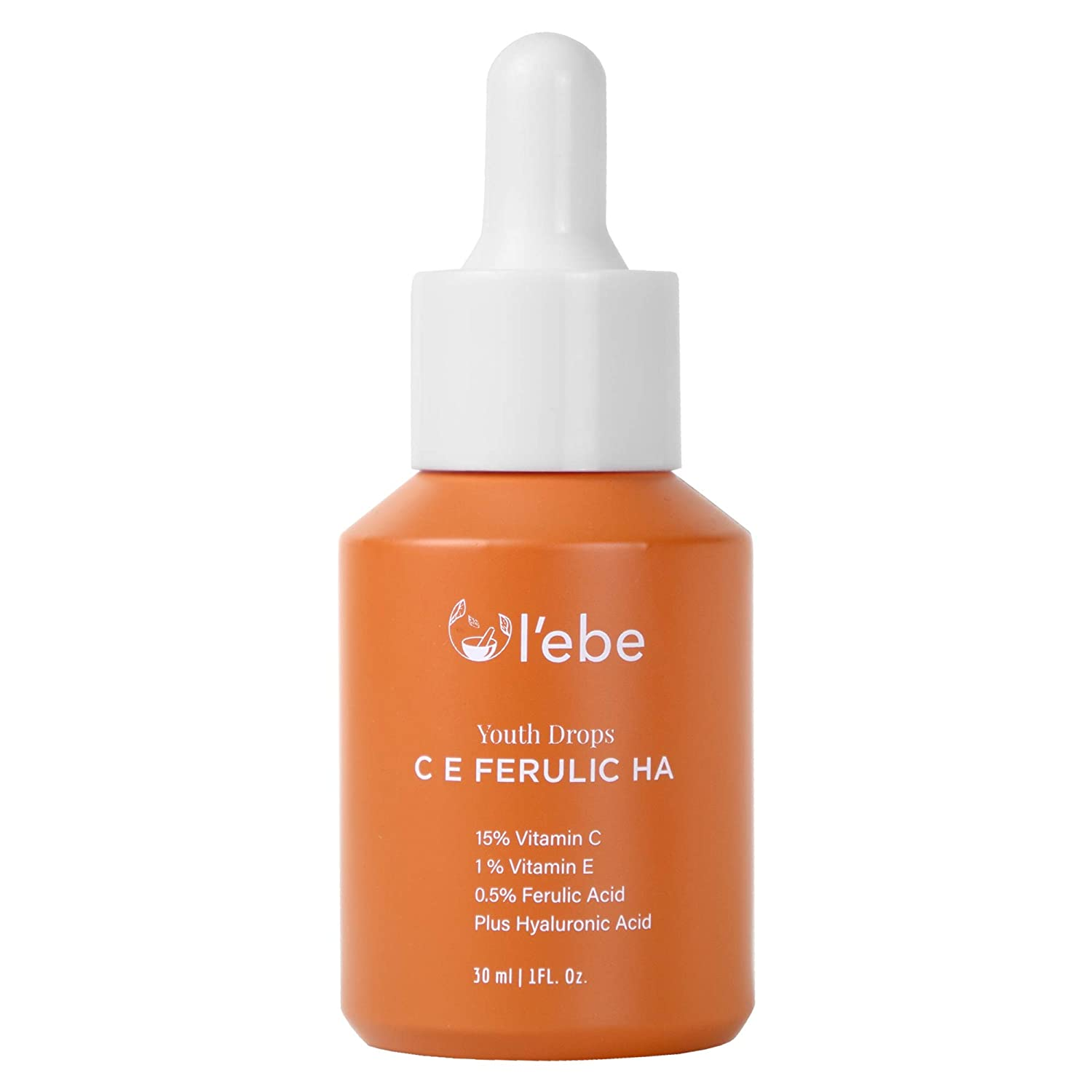 15% Pure New arrival Vitamin C + B E Hyaluronic Acid Serum Face An Ferulic SEAL limited product