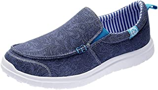 ❥Women's Fashion Print Comfort Flat Round Toe Single Shoes Lazy Sport Shoes Outdoor Pea Shoes Boat Shoes Loafers
