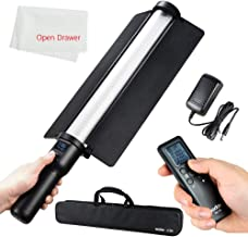 Godox LC500 3300K-5600K Adjustable Handle LED Light Stick Built-in Lithiunm Battery Remote Control + AC Power Charger + Carry Bag