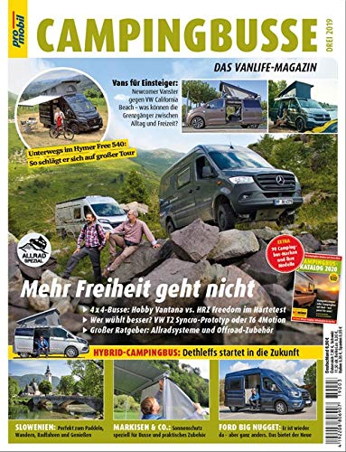 pro mobil Extra Campingbusse: Das Vanlife Magazin - Heft 03/2019