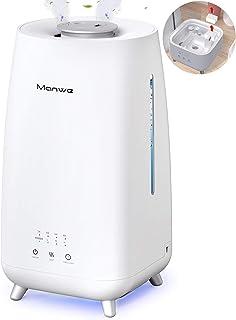 Manwe 3000 ML Humidificador de Aire para bebés,botón de Pantalla táctil,difusor de Aceite esencial3 Modos de Niebla,Boquil...