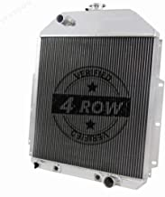 STAYCOO 4 Row Full Aluminum Radiator for 1942-1952 Ford F1 F2 F3 Truck Pickup with Chevy Engine SWAP