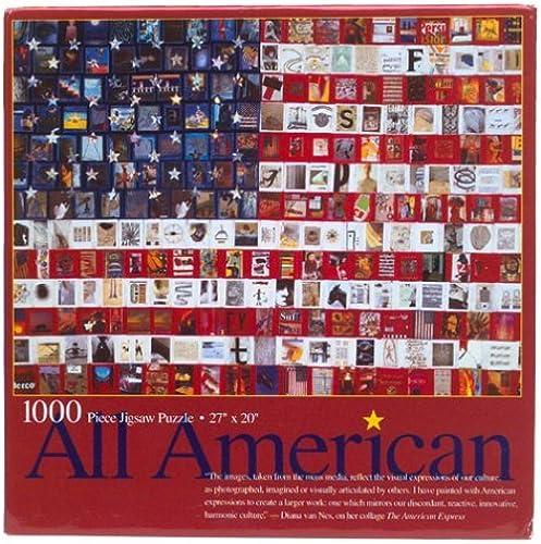 diseño simple y generoso All American 1000 Piece Jigsaw Puzzle Campbell's Soups by by by Ceaco  Tu satisfacción es nuestro objetivo