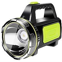 BAJIE Zaklamp Handheld Light Oplaadbare Led-zaklamp Spotlight Lantaarn Zoeklicht Handheld draagbare zaklamp voor kamperen ...