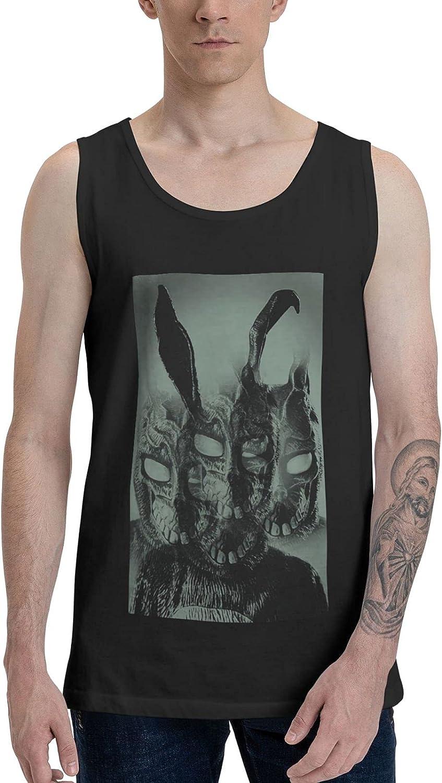 Thomanmaniel Donnie Darko Tank Top Mens Leisure Crew Neck Sleeveless Shirts Vest