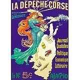 Poster Korsika 50x 70cm
