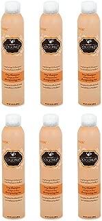 Hask Monoi Coconut Dry Shampoo, 6.5 Ounce (6pack)