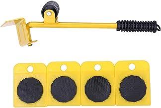 meubilair transport lifter 5 stk/set zware bewegende tool Shifter bank koelkast wasmachine wielen schuifregelaar roller Mo...