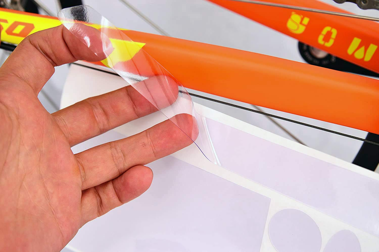 BBB 2905615701 Protector Cuadro Bicicleta, Unisex, Transparente, Talla Única: Amazon.es: Deportes y aire libre