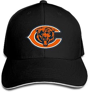 Chicago Bears Baseball Cap Classic Adjustable Plain Hat N-F-L Trucker Hat