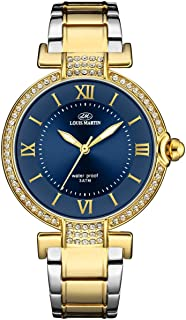 Louis Martin Dress Watch For Women Analog Stainless Steel - lm2084