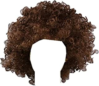 Brown Afro Wig, Explosion Wig,Disco Afro Wig, Hippie Costume Wig,Halloween Costume Party Wig,Halloween Hair Accessory