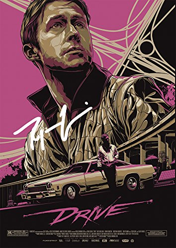 Large Drive Movie Print - Ryan Gosling (11.7
