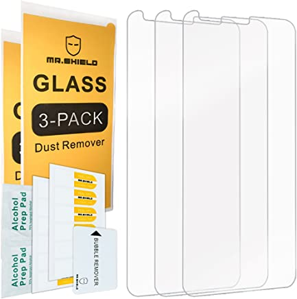 [3-Pack]-Mr.Shield for LG Stylo 4 [Tempered Glass] Screen Protector with Lifetime Replacement