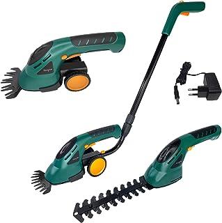 LZQ accugrasschaar, struikschaar, set 2-in-1, incl. wielen en handgreep, grasmaaier & elektrisch tuingereedschap, grasscha...