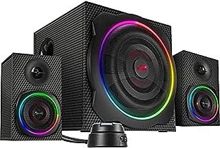 Speedlink Gravity Carbon RGB 2.1 subwoofer System - system głośników z połączeniem Bluetooth do smartfona/tabletu - moc sz...