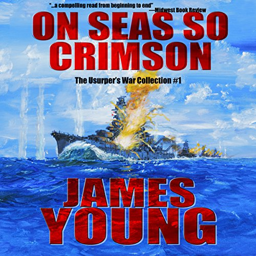 On Seas So Crimson audiobook cover art