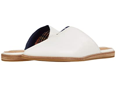 Sperry Saybrook Mule Leather (White) Women