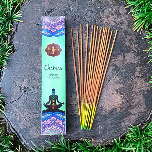 MIX de Incenso Krishna Love Aromas 12 Cx.14 Varetas + Brinde Porta Incenso