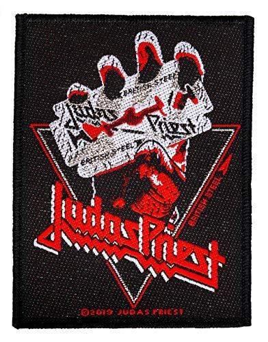 Priest Judas British Steel Vintage Aufnäher Judas Patch Gewebt & Lizenziert !!