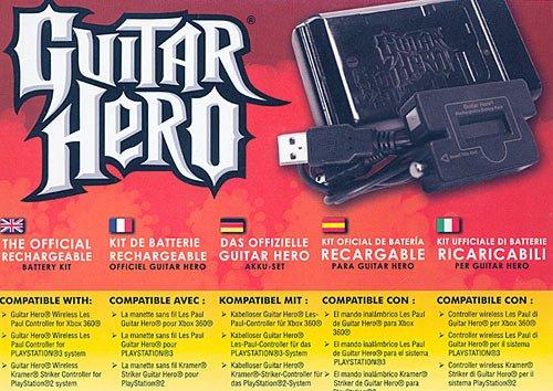 Guitar Hero - Pack batterie Rechargeable [Importación francesa]