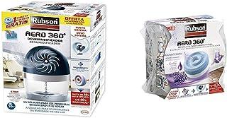comprar comparacion Rubson Aero 360 450 G deshumificador que limpia el aire, el olor y evita el moho & Recambios para deshumificador Aero 360,...
