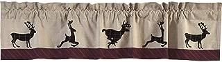 deer valance curtains