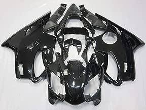 ZXMOTO Motorcycle Bodywork Fairings Kit for Honda CBR600RR F4i 2001-2003 2002 Painted Glossy Black