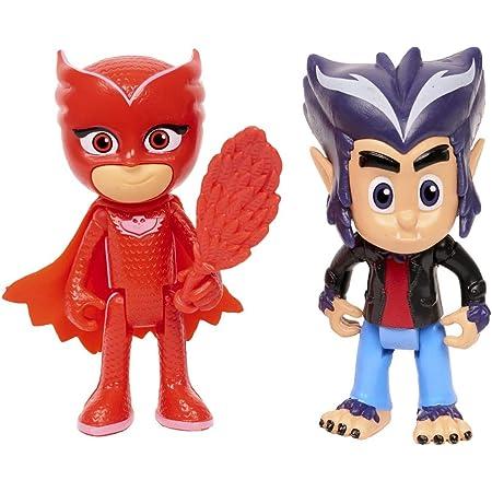 PJ Masks - Pack de 2 Figuras (BUHITA Y HOWLER)