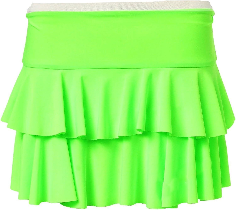 Forever Womens Beautiful Neon Rara Flared Hot Mini Skirt