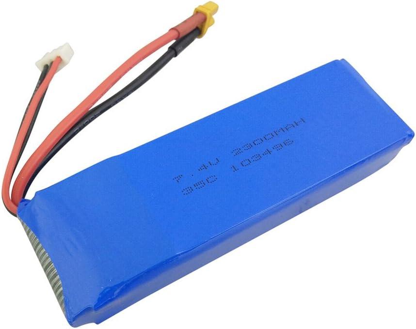 sea jump 7.4V 2300mah Lithium Battery for B6F B6FD B6 B6W MJX B8 New mail SALENEW very popular! order