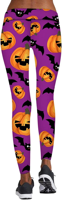Atlanta Mall PHSHY Clearance SALE Limited time Yoga Pants Long Length for Women Pumpkin Halloween C Ghost