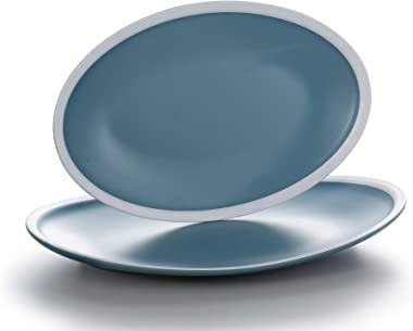 Dinner Plates set, High Temperature Natural Dinnerware Dish for Dinner and Salad, Restaurant, Family Party