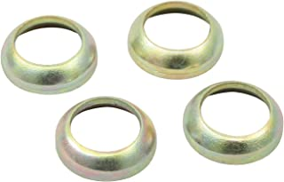 EMPI 9508 VW Bug Buggy Lug Bolt Adapter Ball Seat Washers 60 Degree Acorn to Metric Set of 4