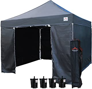 Best 10x10 pop up canopy with sides Reviews