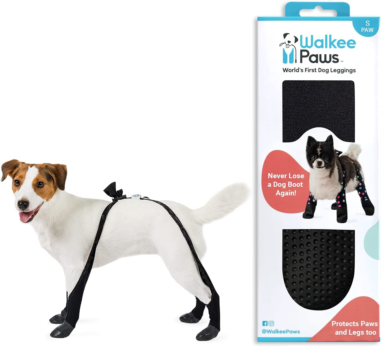 Walkee Beauty products Paws Adjustable Fit Dog Leggings Tank Shark on Max 78% OFF Seen As